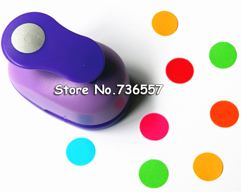 Free Ship 1cm Paper Circle Cutter Paper Punch Craft Perfurador Scrapbooking Paper Punch For Kids Furador Diy Puncher