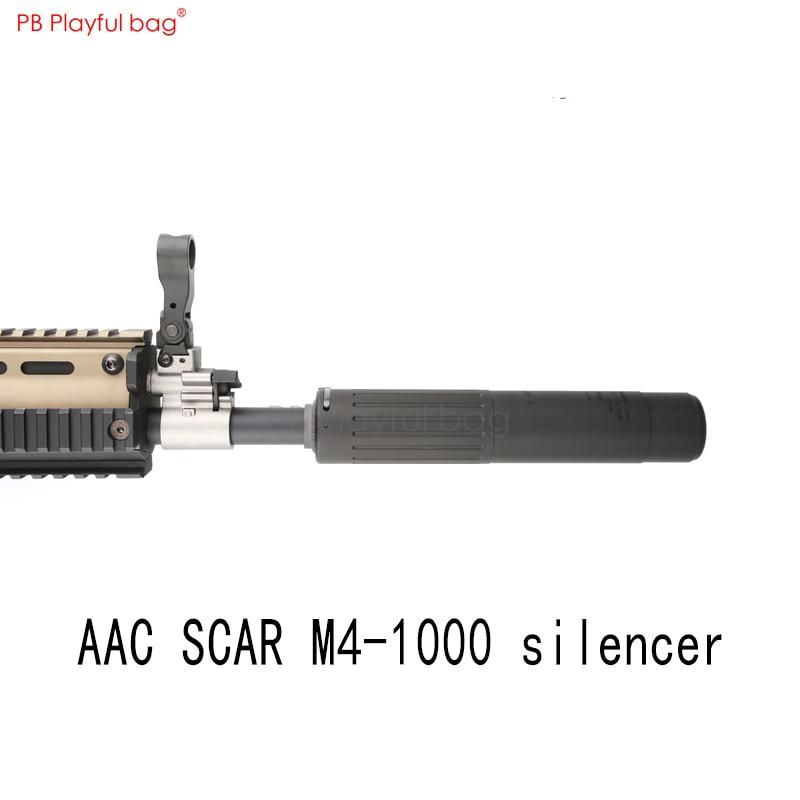 Playful Bag Outdoor CS AAC SCAR M4-1000 Silencer Fire Cap LDT MK17 Upgrade Material Accessory 14 Reverse Teeth AR Universal QE44