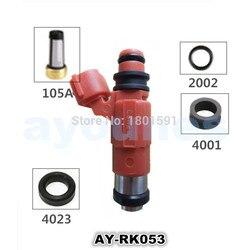 Sprzedaż hurtowa 8 zestawy zestawy naprawcze wtryskiwaczy paliwa dla mitsbubishi CDH210 7310597 4G64 4G18 MD319790 (AY-RK053)