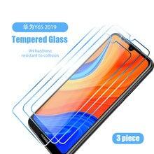 1/2/3 шт. Защитное стекло для Huawei Enjoy Z 20 Pro Y9S Y8S Y6S 2019 и устойчивая к царапинам ультратонкая пленка из закаленного стекла для Huawei Y8P Y7P Y6P Y5P значок ...