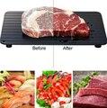 Лоток для быстрого размораживания замороженных продуктов, мяса, фруктов, быстрое устройство для размораживания кухонных приборов