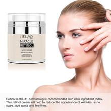 Retinol 2.5% Face Moisturizer Cream Serum Wrinkles Anti Aging Hyaluronic Acid Vitamin E Eye Area