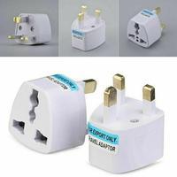 Adaptador de enchufe de corriente Universal para UE, EE. UU., Reino Unido, AU, enchufe de conversión del convertidor, enchufe estándar