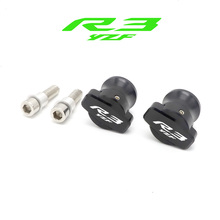 Motorcycle Accessories R3 Swingarm Spools Slider 6mm Swing Arm Stand Screws For YAMAHA YZF YZF-R3 YZFR3 2015-2019 Moto