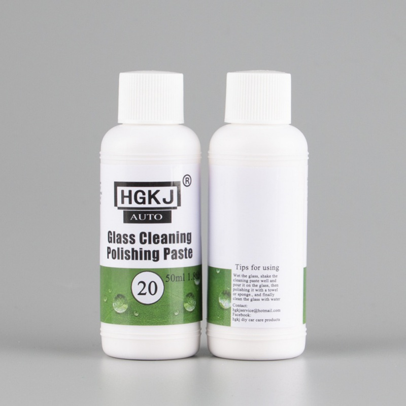 Car Repair Safety Accessories Cleaner 20/50ml HGKJ-20 Glass Oil Film Cleaning And Polishing Glass Cleaning Polishing Paste