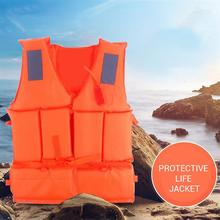 1Pcs Professional Safety Swimming Life Jacket Vest Foam With Whistle For Drifting Surfing swimming snorkeling wear fishing