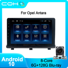 COHO Per Opel Antara Bluetooth Multimedia Player di Navigazione Per Auto Radio Android 10.0 8-Core 6 + 128G