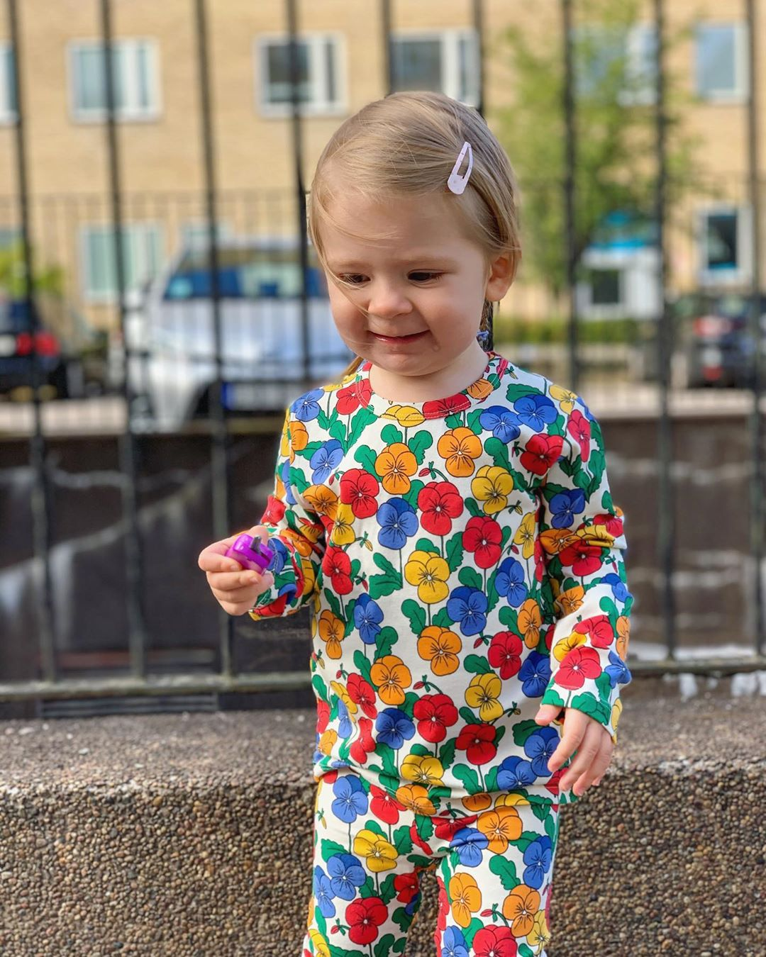 MINI Brand Kids Clothes T-shirts 2021 Autumn Girls Full Floral Pattern Dress Cotton Fashion Baby Romper Girl Boys Casual Pants 4