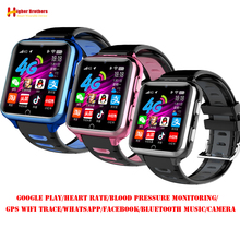 Smart 4G GPS WI-FI Trace Location Adult Student Wristwatch Video Call Heart Rate Blood Pressure Monitor Android Camera SOS Watch uw80c gps smart watch with return cruise sos compass sensor wristwatch heart rate multi motion scene waterproof for andriod