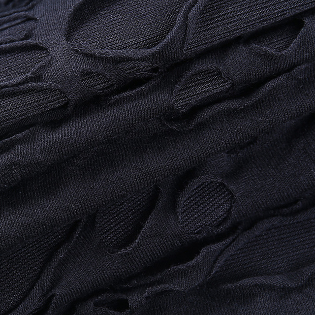Helisopus New Gothic Black Mini Dress Streetwear Rock Punk Hollow Retro High Waist Long Sleeve Bodycon Party Dresses 5