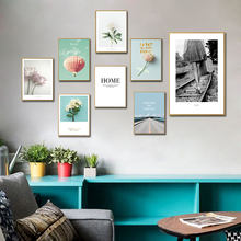 Prints Modern Wall Decorative Pictures No Framed Nordic Style Canvas Paintings Living Room Bedroom Art Posters Home Decoration