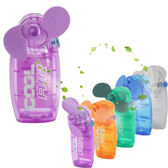Hot Lovely Mini Portable Pocket Fan Cool Air Hand Held Travel Battery Powered Blower Electric Cooler New HY99 JU20