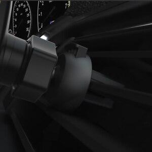 Image 4 - Qi 15W Snelle Draadloze Auto Opladen Roze Wit Mount Voor Iphone Base Autohouder Draagbare Draadloze Inductie Oplader C type Kabel