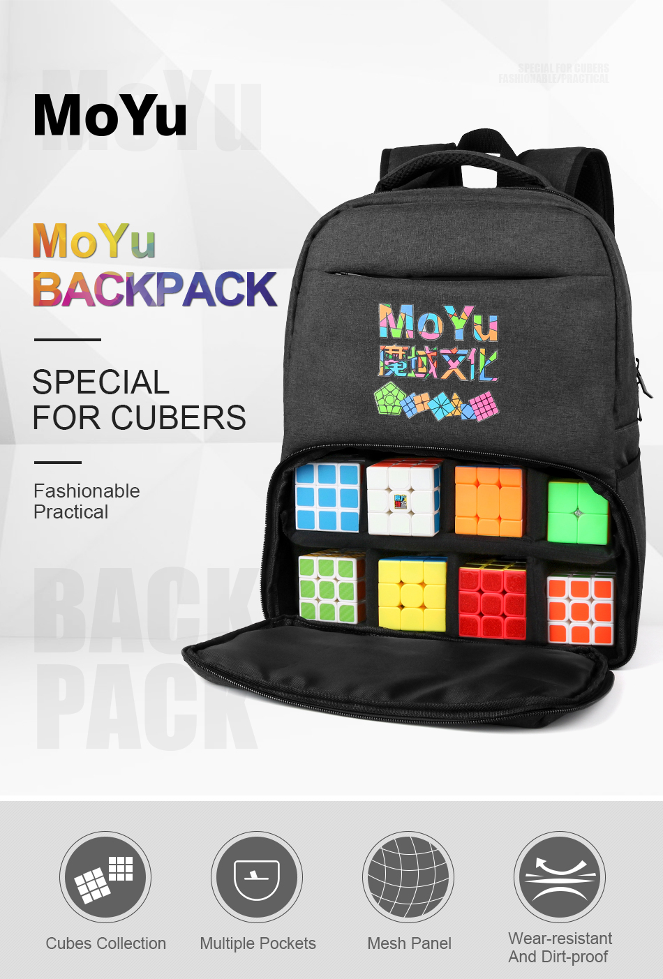 Moyu backpack for cube 1