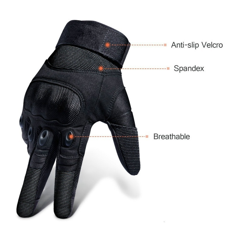 Touch Screen Tactical Military Hard Knuckle Full Finger Gloves Army Airsoft Paintball Combat Hunting Riding Motorcycle Cycling
