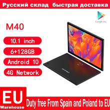Teclast-Tabletas M40 Android 10, Tablet con red 4G, 10,1 pulgadas, T618, ocho núcleos, llamada telefónica Dual, 1920x1200, 6GB RAM 128GB ROM, PC