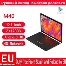 Teclast M40 Android 10 tablet 4G ağ 10.1 inç T618 Octa çekirdek çift telefon görüşmesi 1920x1200 6GB RAM 128GB ROM Tablet PC