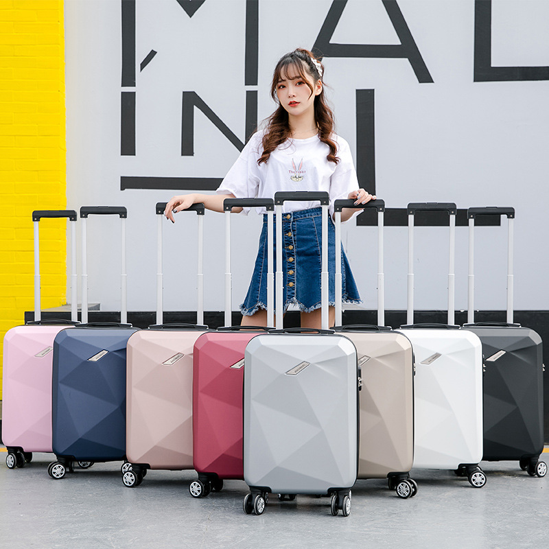 20 Inch Cabin Carry On Suitcase With Wheels 24'' ABS Travel Trolley Luggage Women Fashion Rolling Luggage Travel Bag Men's Case