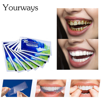 YOUWAYS Teeth Whitening Strips Tooth Whitening Stickers Tooth Bleaching Daily Use Whitening Oral Tooth Care Tool фото