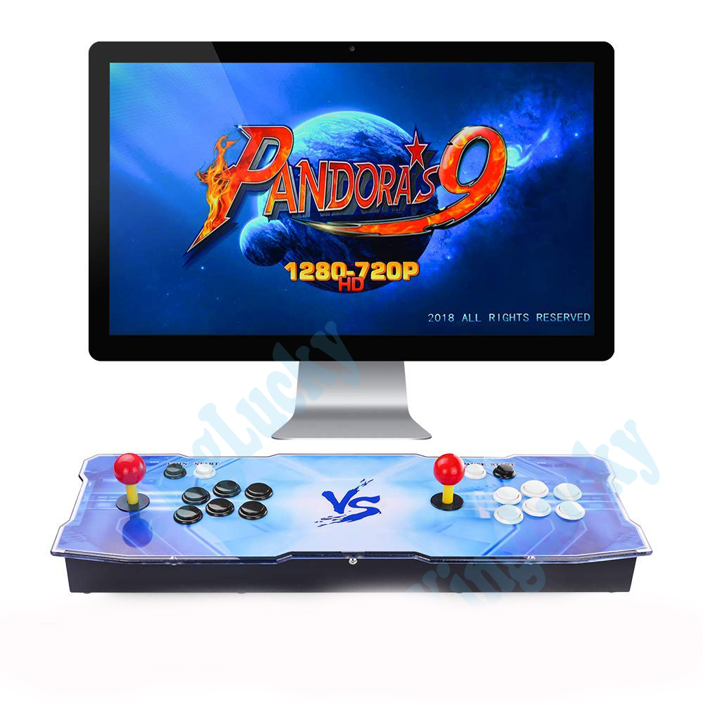 2020 New Box 9 3003 in 1 Arcade Game Acrylic console 2 Players joystick stick controller console HDMI VGA USB output  TV PC 5