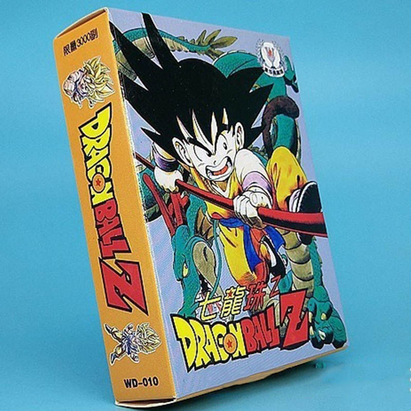 55PCS Dragon Ball Super Ultra Instinct Goku Jiren Poker Game Action Toy Figures Commemorative Edition Game Collection Cards
