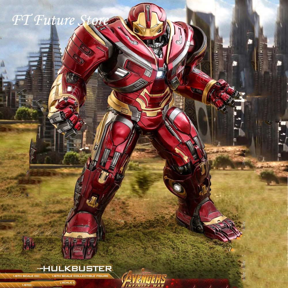 Hot Toys PPS005 1/6 Scale Collectible 50cm Avengers 3 Hulkbuster Anti-Hook Armor 12 Inches Action Figure Model For Fans Gifts