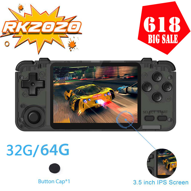 NEW 3.5 Inch IPS Handheld Portable Game Console Retro Games Video Games Console Controller Support E-book TF Game Machine