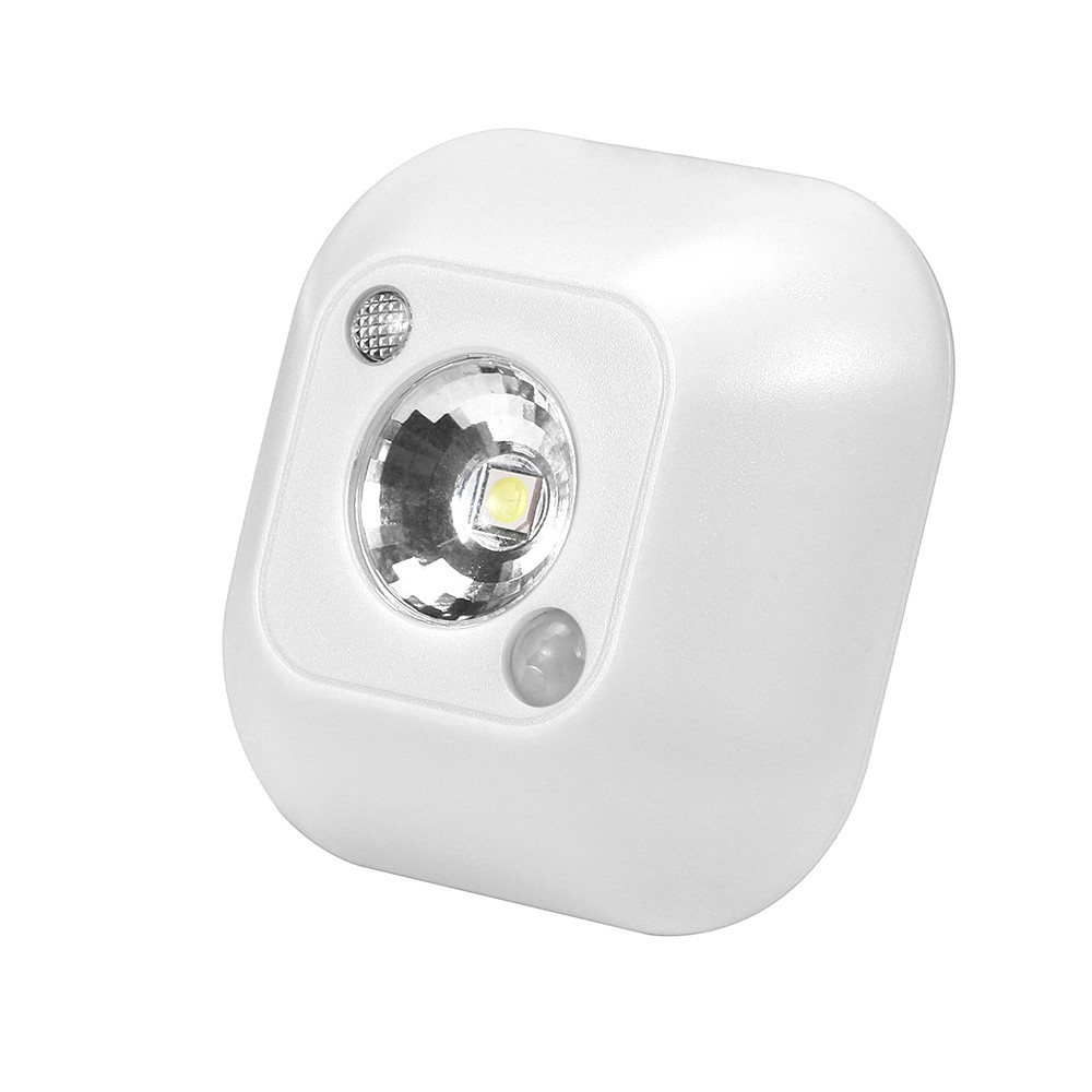 Light Control Body Sensor Lights Mini LED Wireless Night Light Motion Sensor Lights  Wall Emergency Night Lamp 2020