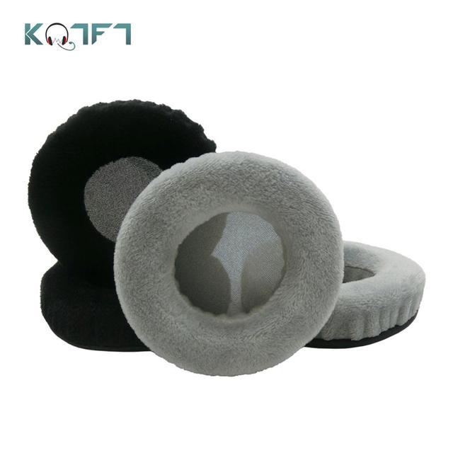 Kqtft 1 Paar Fluwelen Vervanging Oorkussens Voor Philips Fidelio X2HR X 2HR X 2HR Headset Oordopjes Oorbeschermer Cover Kussen cups