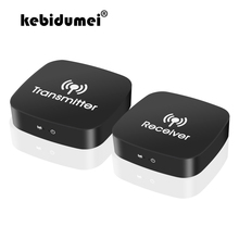 kebidumei 2.4GHz/5GHz 1080P Wireless HDMI Extender Wifi HDMI Audio Video Transmitter Receiver TX RX Support 3D HDCP1.2 HDTV