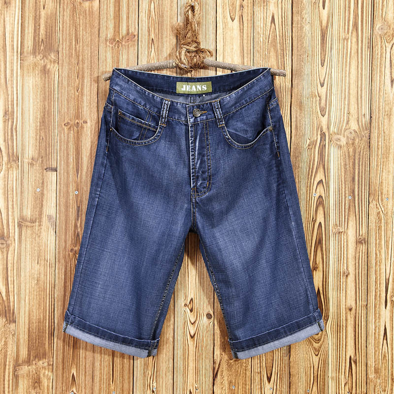 Jeep Chariot Summer Jeans Shorts Men Medium Waist Short Shorts Men Cowboy Breeches