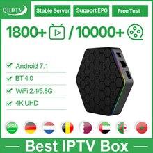 T95Z Plus IPTV Arabic Nederlands Germany Android 7.1 QHDTV IPTV Belgium Arabic Dutch Algeria Morocco