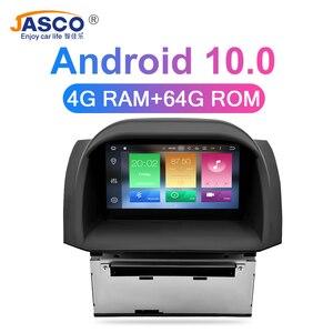 Image 2 - 4 G Android 10.0 Stereo DVD do samochodu dla Ford Fiesta 2013 2014 2015 2016 Radio samochodowe nawigacja GPS Audio wideo radioodtwarzacz multimedialny