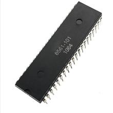 1 قطعة 5 قطعة 6561 101 DIP 40 MOS6561 101 DIP40 6561101 6561 101 جديدة ومبتكرة