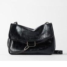 Luxus Handtaschen Frauen Taschen Designer Vintage Schulter Tasche Neue Kette Messenger Bags Weiche Klappe Schulter Crossbody Pack Frauen Geldbörse