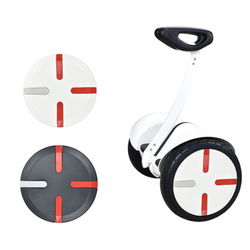 2pcs  PC Electric Scooter Wheel Cover For Xiaomi 9/pro Balance Ninebot Scooter Car Plate Cover Accessories Skate Board 2020 New
