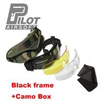 Military Airsoft X800 Tactical Goggles USMC Tactical Sunglas