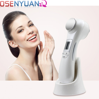 LED Photon Radio Frequency EMS Skin Care Tool Portable  Professional Facial skin Lift Microcurrent Ion Vibration Massager