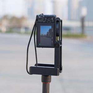 Image 5 - Складной штатив ALLOYSEED Z, гибкий наклон, из алюминиевого сплава, складная наклонная головка Z, БЫСТРОРАЗЪЕМНАЯ пластина, подставка, крепление для телефонов и камер