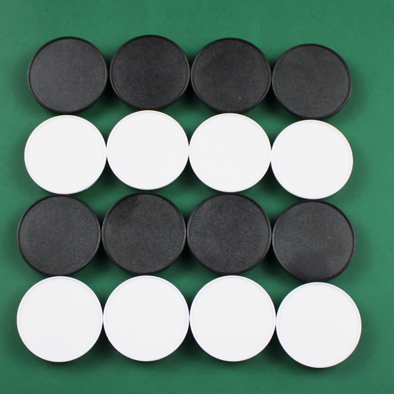 20-100pcs Round Concave Grooved Blank Material Mobile Phone Folding Stretch Airbag Bracket Phone Holder Balloon Support