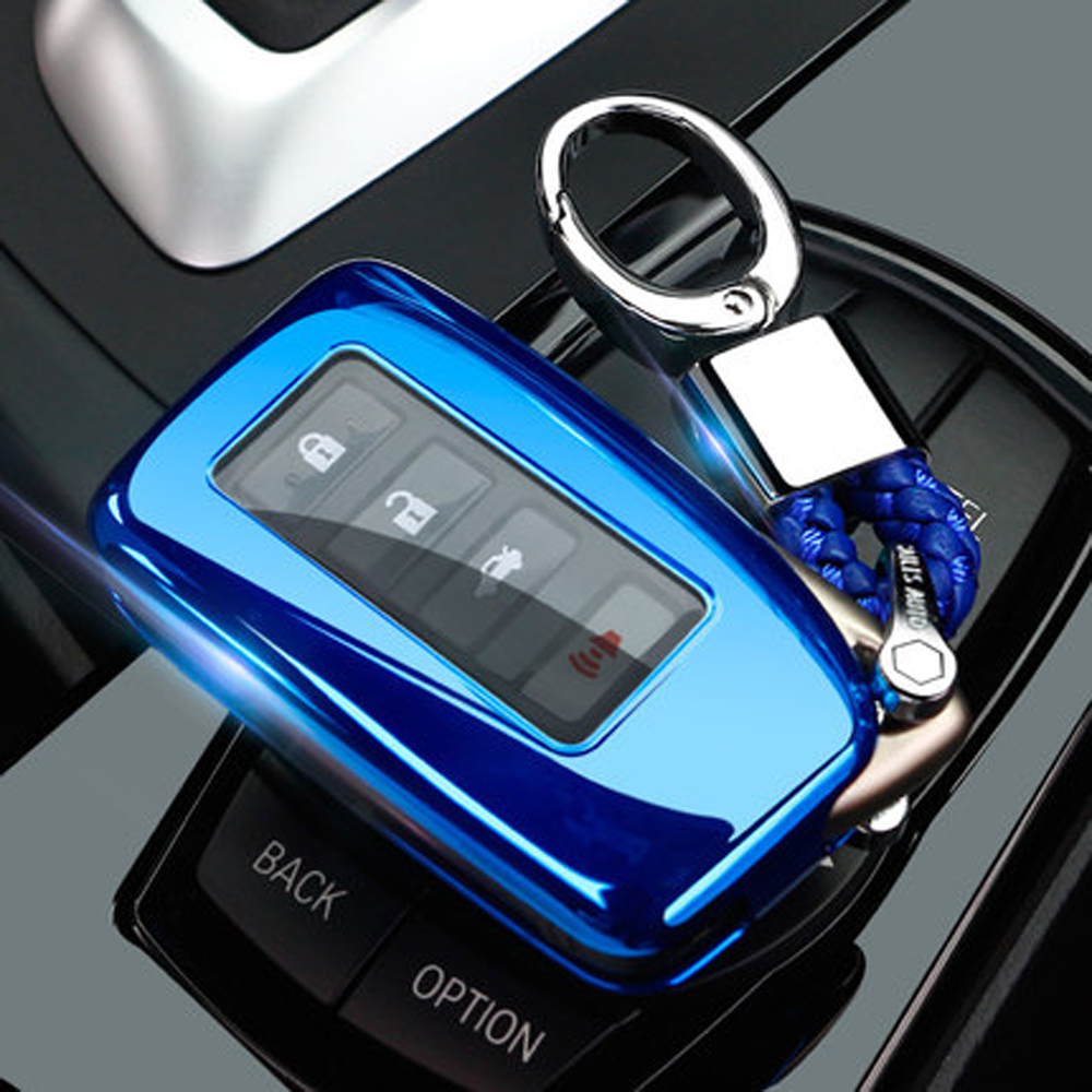 3 Buttons Remote TPU <font><b>Key</b></font> Fob Cover Wallet <font><b>Case</b></font> For <font><b>Lexus</b></font> IS200t/IS300/RC200t/RC300/RCF/<font><b>RX350</b></font> LS CT 450H 300H Keyless Holder image