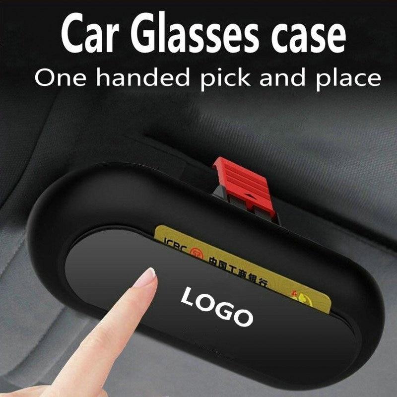 Автомобильный футляр для очков держатель для хранения чехол для солнцезащитных очков для BMW 3 5 7 серии E65 G11 G12 F01 F10 F30 G30 E83 F25 G01 F15