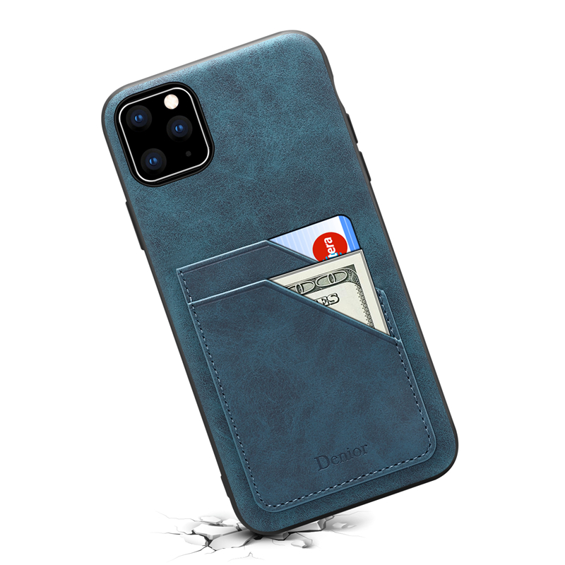 Double Card Leather Case for iPhone 11/11 Pro/11 Pro Max 15