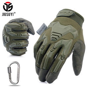Military-Gloves Bicycle Protective Rubber Combat Airsoft Army Tactical Women Paintball-Shooting
