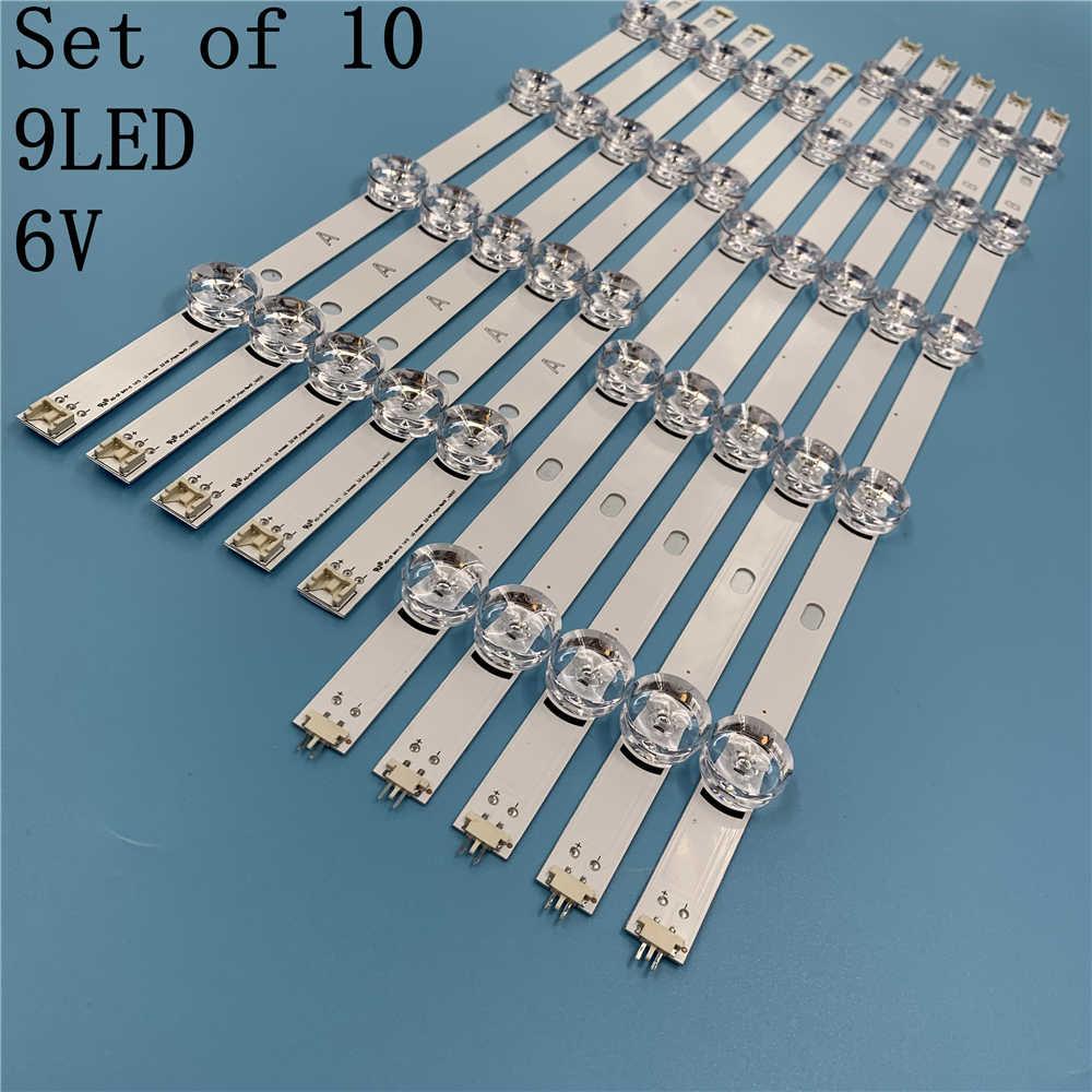 LED תאורה אחורית רצועת עבור LG 49lb5200 49LB580U 49LF5800 49LF5610 49LB570B 49LB551 49LB550V 49LB561V