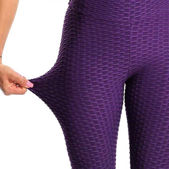 JGS1996 Women's High Waist Yoga Pants Anti-Cellulite Slimming Booty Leggings Workout Running Butt Lift Tights 5