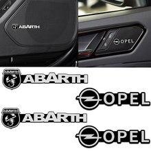 4 шт. автомобильные 3D металлические наклейки для динамика звуковые буквы наклейки s для Lada VESTA Niva Kalina Priora Granta Largus SAMARA автотовары
