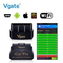 Vgate I Xe Pro Wifi OBD2 Máy Quét Elm 327 I Xe Pro Wi fi V1.5 Công Cụ Chẩn Đoán Cho Android/IOS OBD 2 máy Quét Cho Điện Thoại