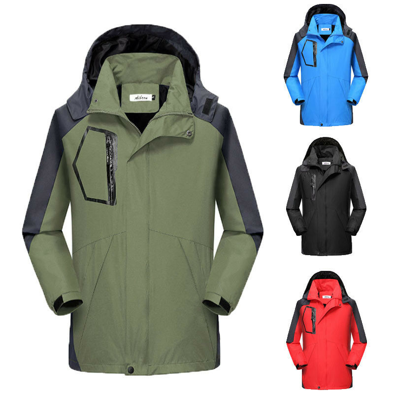 Men Winter Warm Ski Snow Climbing Hiking Waterproof Sport Jacket Outdoor Coat Trekking Skiing Male Jackets