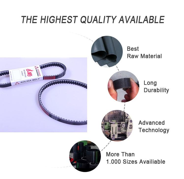 Высокое качество ATV UTV Трансмиссия двойные зубья приводной ремень для CF Moto 500 cc